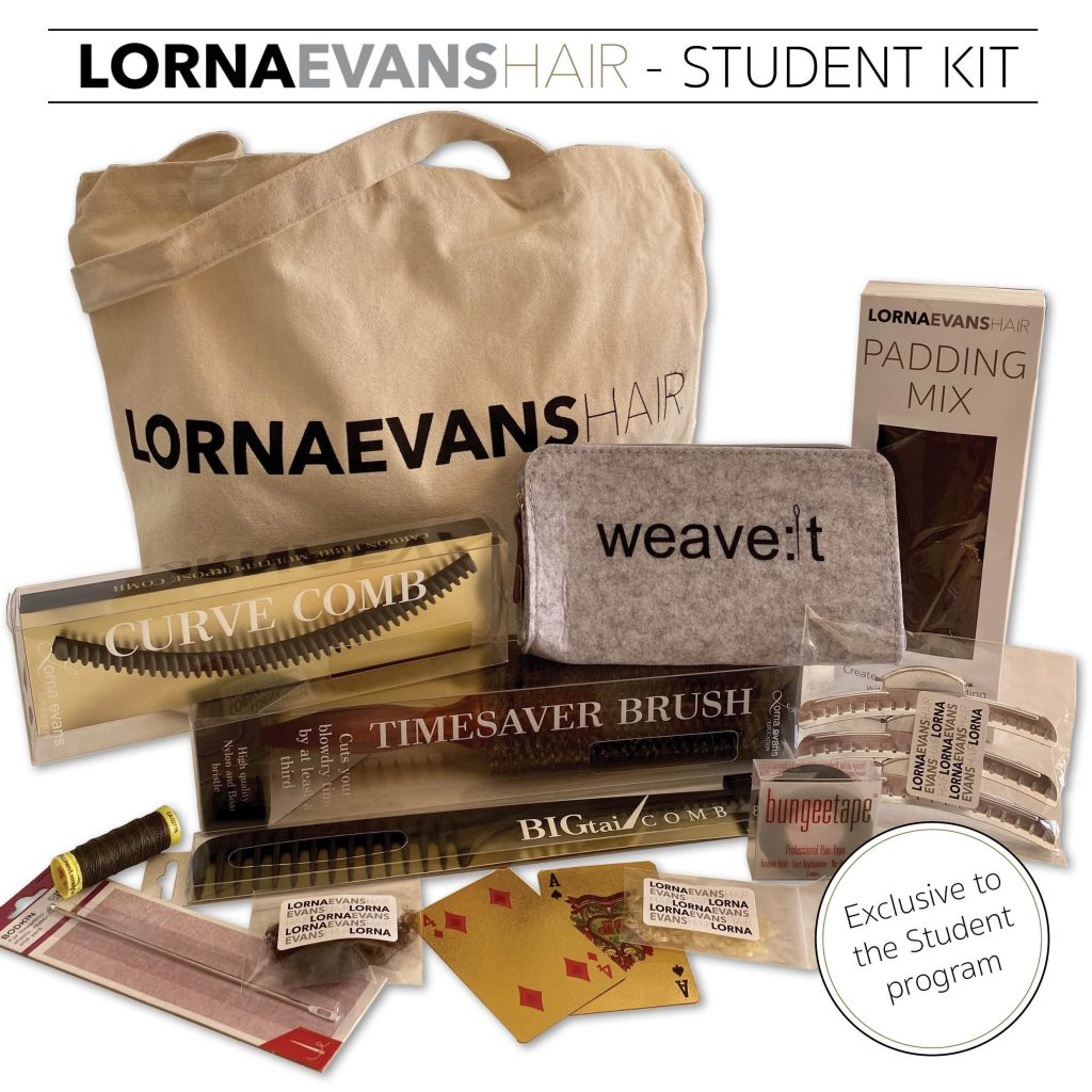 Exclusive Student Kit by Lorna Evans Hair